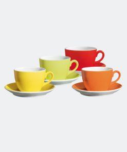 Mintaszett - kávéskészlet Allegri Colori fehér