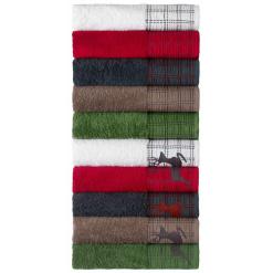 Törölköző Zermatt szarvas minta 50x100cm