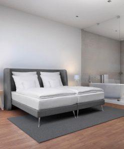 Kétszemélyes kárpítozott ágy Arya Chicago