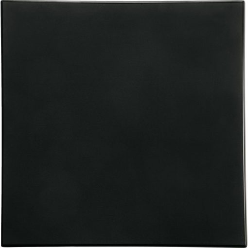 Werzalit Topalit asztallap fekete, ezüst, négyzetes