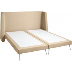 Kétszemélyes kárpítozott ágy Arya New York