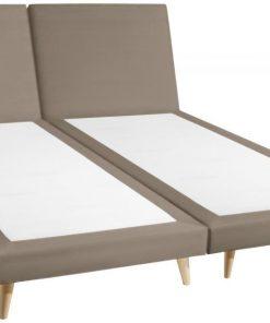 Kétszemélyes kárpítozott ágy Xara Chicago