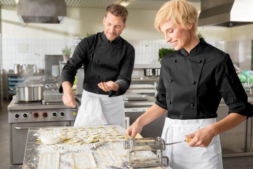 Férfi szakácskabát Milan hosszú ujjú