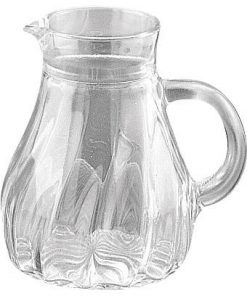 Karaff-préselt üveg