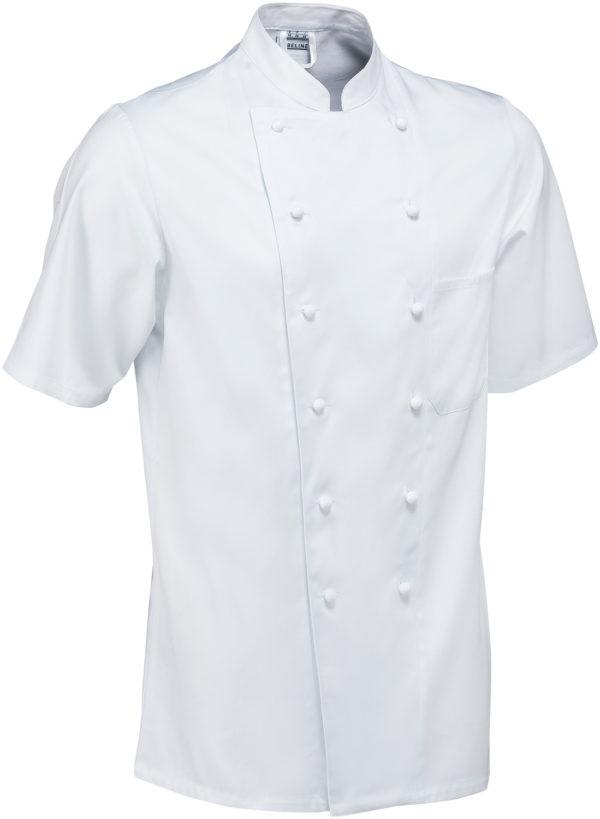 Férfi szakácskabát Samuel rövid ujjú