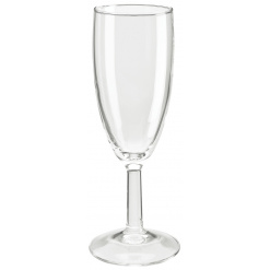 Pezsgős pohár töltésszintjelzővel