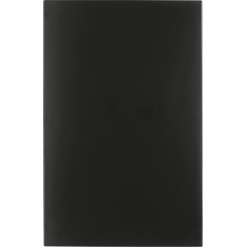 Werzalit-Topalit asztallap fekete 70x110 cm