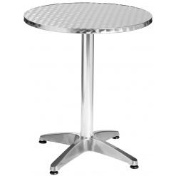 Alumínium asztal Limona,kerek