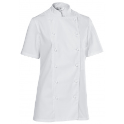 Női szakácskabát Premium Chef rövid ujjú