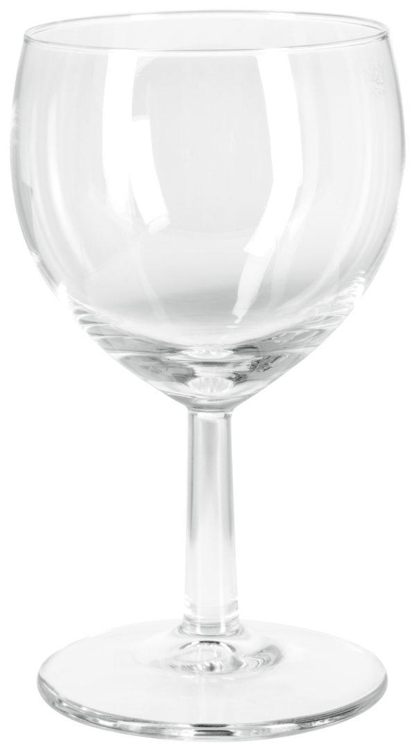 Fehérboros pohár szintjelzéssel Ballon