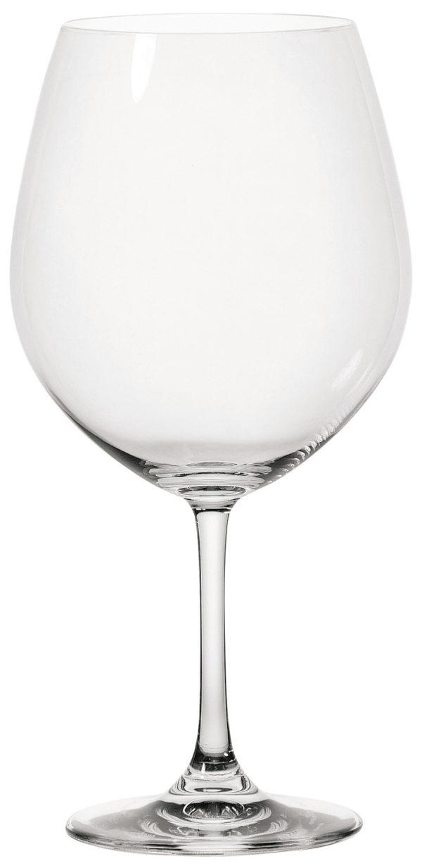 Vörosboros pohár Chateau töltésszintjelző nélkül