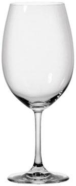 Vörosboros pohár Chateau töltésszintjelzővel