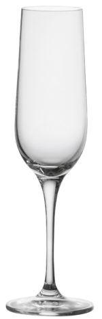 Pezsgős pohár Chateau töltésszintjelzővel