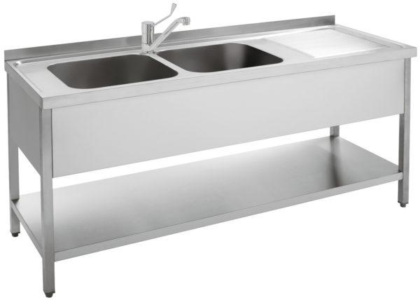 2 medencés mosogató