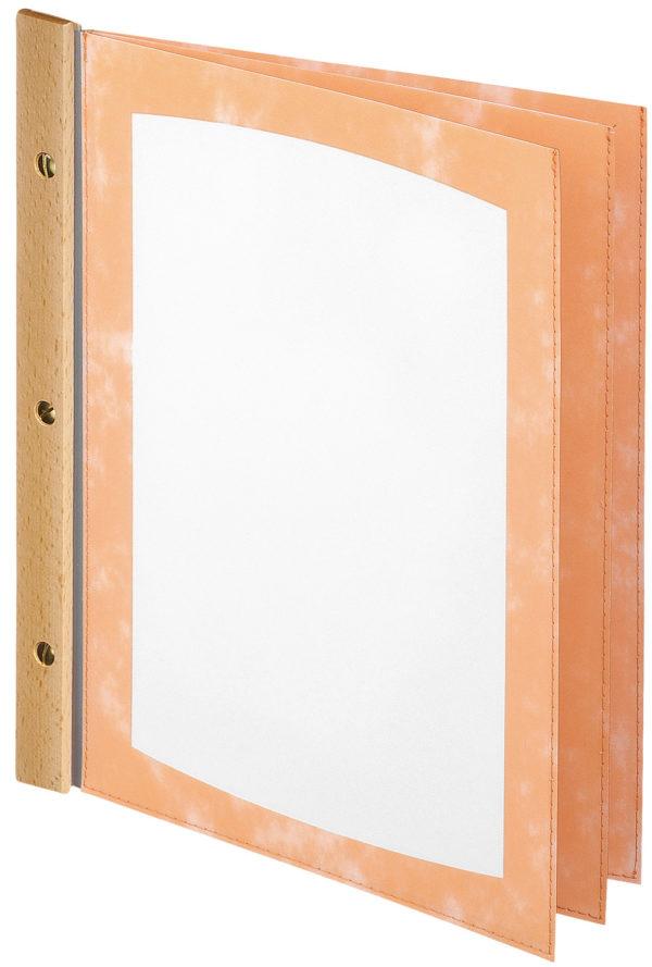 PVC-Étlap mit falFagylaltte (6 ablak)