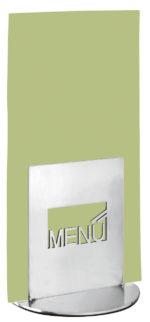 Asztali laptartó MENU felirattal