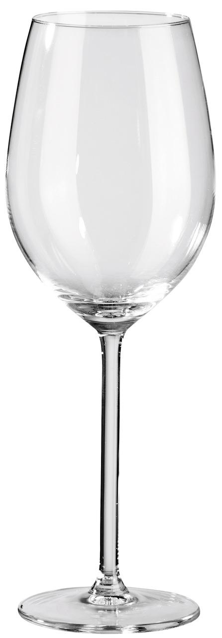 Vörosboros pohár Allure töltésszintjelző nélkül