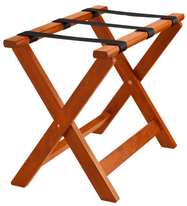 Fa bőrönd állvány Valigia