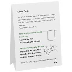 Információs állvány 3-nyelvű tábla, D/GB/F