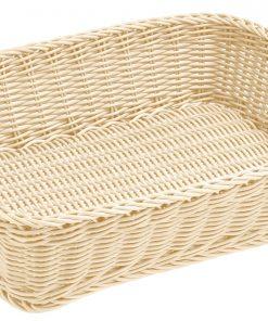 Téglalap alakú pékárú kosár Igato