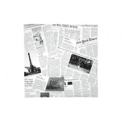 Zsírálló papír News Druck - újság mintás