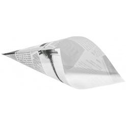 Burgonyás papírtölcsér News-újság mintás