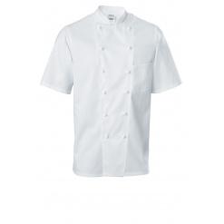 Férfi szakácskabát Premium Chef rövid ujjú