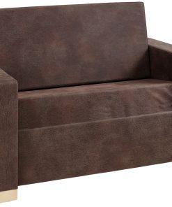 Kinyitható fotelágy fa lábbal
