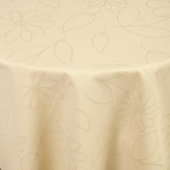 Asztalterítő Floralie kör alakú