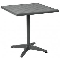Alumínium asztal Malvena