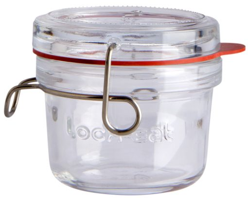 Csatos üveg Holly kerek