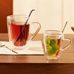 Dupla falú teás-/kávéskészlet DUOS