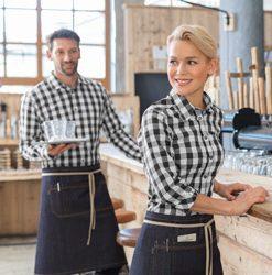 Felszolgáló blúzok és ingek