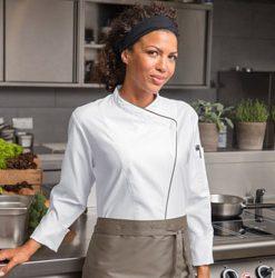 Női szakácskabátok