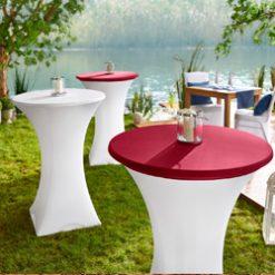 Szék-/Asztalhuzatok és asztalszoknyák