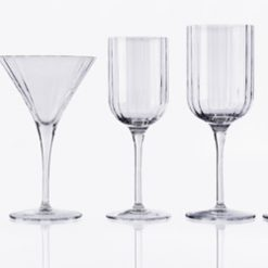Kristály pohárkészlet PINEGA