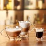 Kávés, lattés, teáspoharak