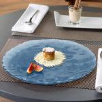 Üveg tányérok