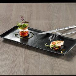 Szögletes tányér Masca