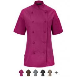 Női szakácskabát Milan rövid ujjú