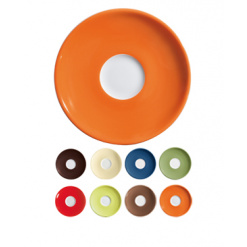 Eszpresszó csészealj Allegri Colori