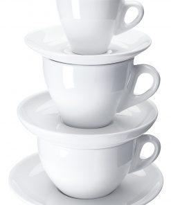 Kávés csészék JOY fehér színben
