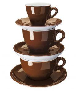 kávéscsésze, színes kávéscsésze, vastagfalú kávéscsésze, porcelán kávéscsésze, minőséges kávéscsésze, strapabíró kávéscsésze, vendéglátóipari porcelán, kávéskészlet, porcelán kávéskészlet, éttermi kávéskészlet, éttermi porcelán, éttermi színes csészék, eszpresszó csésze, cappuccino csésze, kapucsínó csésze, színes kávéskészlet