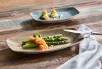 Szögletes tányér Way 11.5x19.0cm