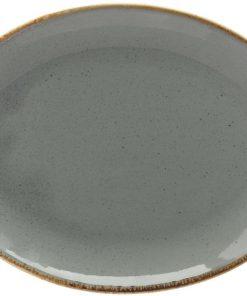 Ovális tányér Sidina 24x18cm