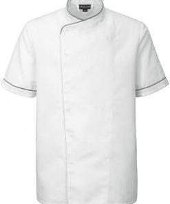 Férfi szakácskabát Leon rövid ujjú