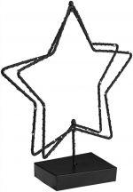 Fém csillag világítással  Akima