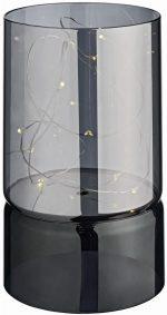 Gyertyatartó LED-es világítással Ajina