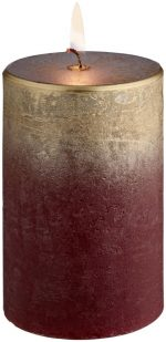 Gyertya Rustic Chambray 6.8x10cm