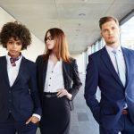 Üzleti öltönyök és kosztümök PREMIUM